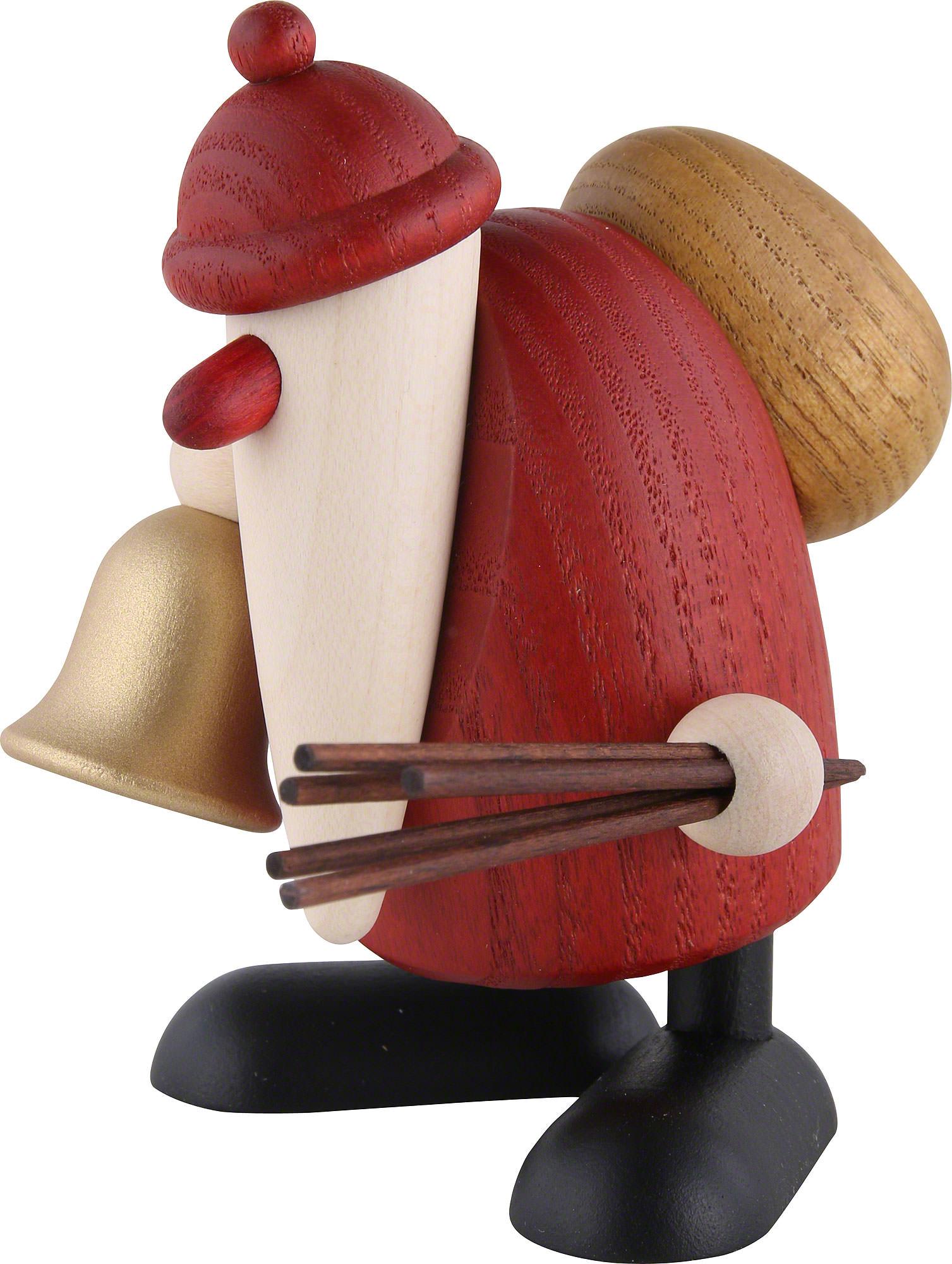 weihnachtsmann mit glocke und rute 9cm von bj rn k hler. Black Bedroom Furniture Sets. Home Design Ideas