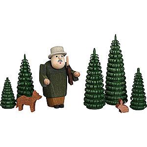 Kleine Figuren & Miniaturen alles Andere  Jägergruppe - 8cm