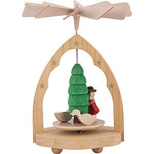 Christmas-Pyramids 1-tier Pyramids 1-Tier Mini Pyramid Gaenseliesel - 10 cm / 4 inch