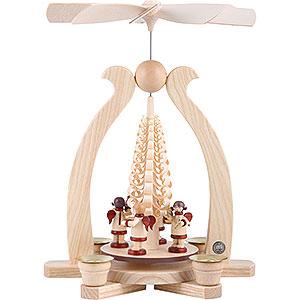 Christmas-Pyramids 1-tier Pyramids 1-Tier Pyramid - Angels Musicians - 29 cm / 11 inch