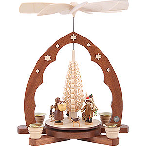 Christmas-Pyramids 1-tier Pyramids 1-Tier Pyramid - Erzgebirge Figurines - 30 cm / 12 inch