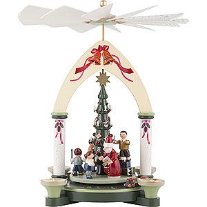 Christmas-Pyramids 1-tier Pyramids 1-Tier Pyramid - Giving - 30 cm / 12 inch