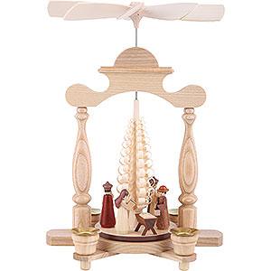Weihnachtspyramiden 1-stöckige Pyramiden 1-stöckige Pyramide - Christi Geburt - 32 cm