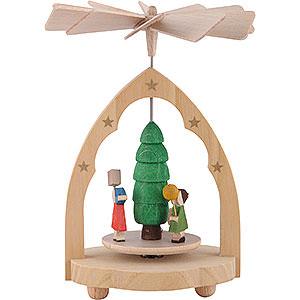 Christmas-Pyramids 1-tier Pyramids 1- tier Mini Pyramid Lantern-children - 4 inch - 10 cm