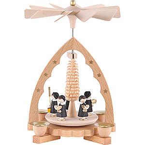 Christmas-Pyramids 1-tier Pyramids 1- tier Pyramid Carolers - 7 inch - 19 cm