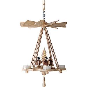 Christmas-Pyramids 1-tier Pyramids 1-tier hanging pyramid Angel - 30cm / 11.8inch