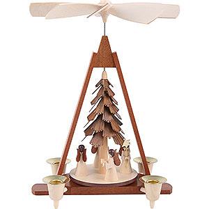 Christmas-Pyramids 1-tier Pyramids 1-tier pyramid - Angels - 29 cm / 11 inch