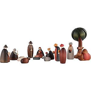 Kleine Figuren & Miniaturen Björn Köhler Krippe klein 15-teiliges Krippenset