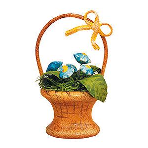 Kleine Figuren & Miniaturen Hubrig Blumenkinder 3er Set Blumenkorb-Vergissmeinnicht - 5cm
