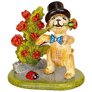 Kleine Figuren & Miniaturen Hubrig Blumenkinder 3er Set Rosenkavalier - 4cm