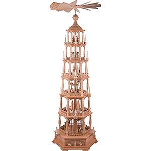 Weihnachtspyramiden 6-stöckige Pyramiden 6-stöckige Pyramide Christi Geburt - 165 cm