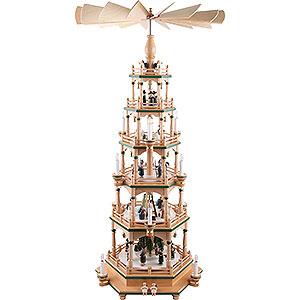 Christmas-Pyramids 6-tier Pyramids 6-tier Pyramid - Paradise - 106 cm / 42 inch