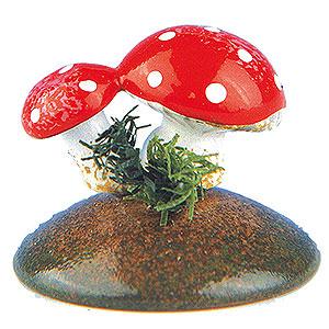 Kleine Figuren & Miniaturen Hubrig Blumenkinder 6er Set Glückspilze - 2 cm