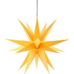 Adventssterne und Weihnachtssterne Saico Sterne Adventsstern für den Innen-und Aussenbereich gelb - 60 cm