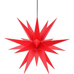 Adventssterne und Weihnachtssterne Saico Sterne Adventsstern für den Innen-und Aussenbereich rot - 60 cm