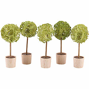 Angels Reichel decoration Almond tree, set of five - 5cm / 2inch
