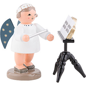 Angels Orchestra of Angels (KWO) Angel Conductor with Music Stand  - 5 cm / 2 inch