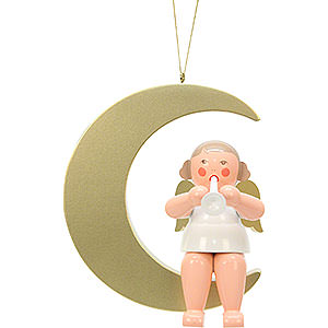 Angels Other Angels Angel on Moon  - 24,0 cm / 9 inch