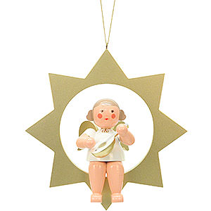 Angels Other Angels Angel on Star  - 26,0 cm / 10 inch