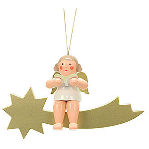 Angels Other Angels Angel on Star  - 32,0 cm / 13 inch