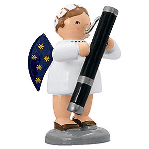 Angels Orchestra of Angels (KWO) Angel with Bassoon - 5 cm / 2 inch