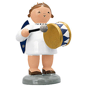 Angels Orchestra of Angels (KWO) Angel with Drum - 5 cm / 2 inch