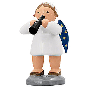 Angels Orchestra of Angels (KWO) Angel with Flute - 5 cm / 2 inch
