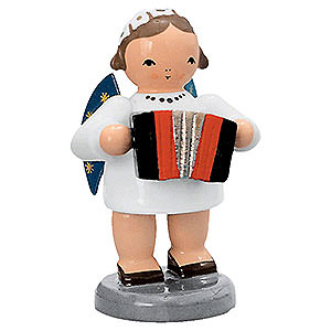 Angels Orchestra of Angels (KWO) Angel with Harmonika - 5 cm / 2 inch