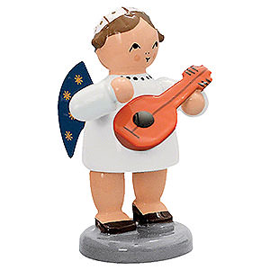 Angels Orchestra of Angels (KWO) Angel with Mandolin  - 5 cm / 2 inch