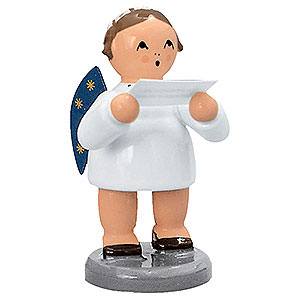 Angels Orchestra of Angels (KWO) Angel with Note Sheet  - 5 cm / 2 inch