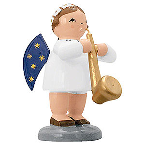 Angels Orchestra of Angels (KWO) Angel with Saxophone  - 5 cm / 2 inch