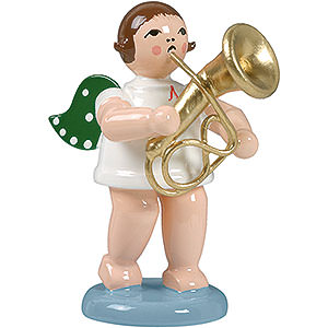 Angels Orchestra (Ellmann) Angel with baritone horn - 6,5cm / 2.5inch