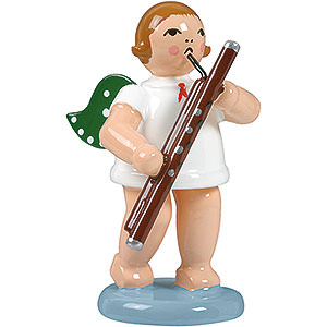 Angels Orchestra (Ellmann) Angel with bassoon - 6,5cm / 2.5inch