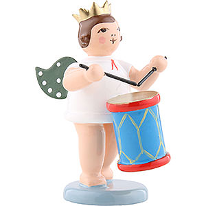 Angels Orchestra with crown (Ellmann) Angel with crown and churn - 6,5cm / 2.5inch