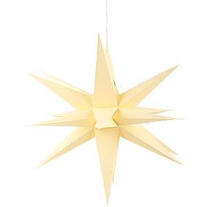 Adventssterne und Weihnachtssterne Annaberger Faltsterne Annaberger Faltstern gelb - 35cm