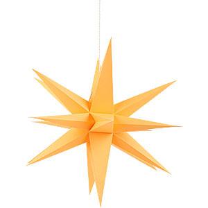 Adventssterne und Weihnachtssterne Annaberger Faltsterne Annaberger Faltstern orange - 35cm