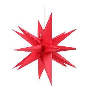 Adventssterne und Weihnachtssterne Annaberger Faltsterne Annaberger Faltstern rot - 35 cm