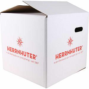Adventssterne und Weihnachtssterne Herrnhuter Stern A4 Aufbewahrungskarton für Herrnhuter Stern bis 40cm - 44x44x39cm