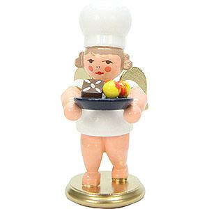 Weihnachtsengel Bäckerengel (Ulbricht) Bäckerengel mit Weihnachtsteller - 7,5 cm