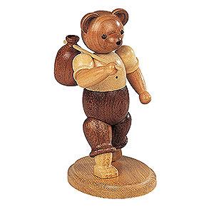 Kleine Figuren & Miniaturen Tiere Bären Bär Wandersmann - 10 cm