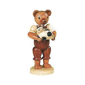 Kleine Figuren & Miniaturen Tiere Bären Bär mit Katze - 10 cm