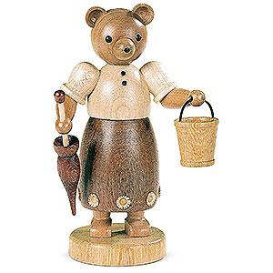Kleine Figuren & Miniaturen Tiere Bären Bärenfrau - 17 cm