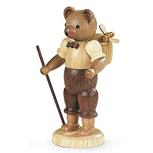 Kleine Figuren & Miniaturen Tiere Bären Bärenmann - 10 cm