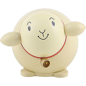 Small Figures & Ornaments Animals Sheep Ball Figure Sheep Colored - 6 cm / 2.3 inch