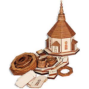 Kleine Figuren & Miniaturen alles Andere Bastelset Seiffener Kirche mit Beleuchtung - 17 cm