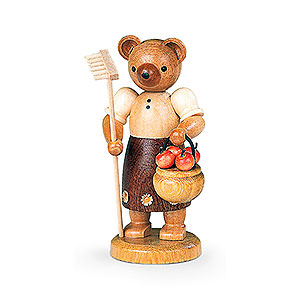 Small Figures & Ornaments Animals Bears Bear Gardener (female) - 10 cm / 4 inch