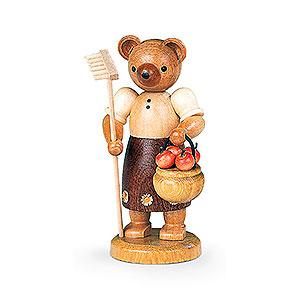 Small Figures & Ornaments Animals Bears Bear Gardener (female) - 10 cm / 4 inch