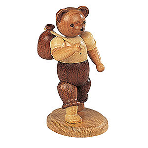 Small Figures & Ornaments Animals Bears Bear Wandersmann - 10 cm / 4 inch