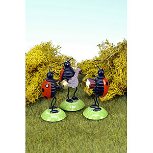 Small Figures & Ornaments Animals Beetles Beetle Orchestra 3pcs. - 6,0 cm / 2 inch
