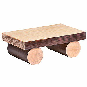 Smokers Incense Cones etc. Bench for edge stool, large - 1x8x4cm / 0.4x3.1x1.5inch